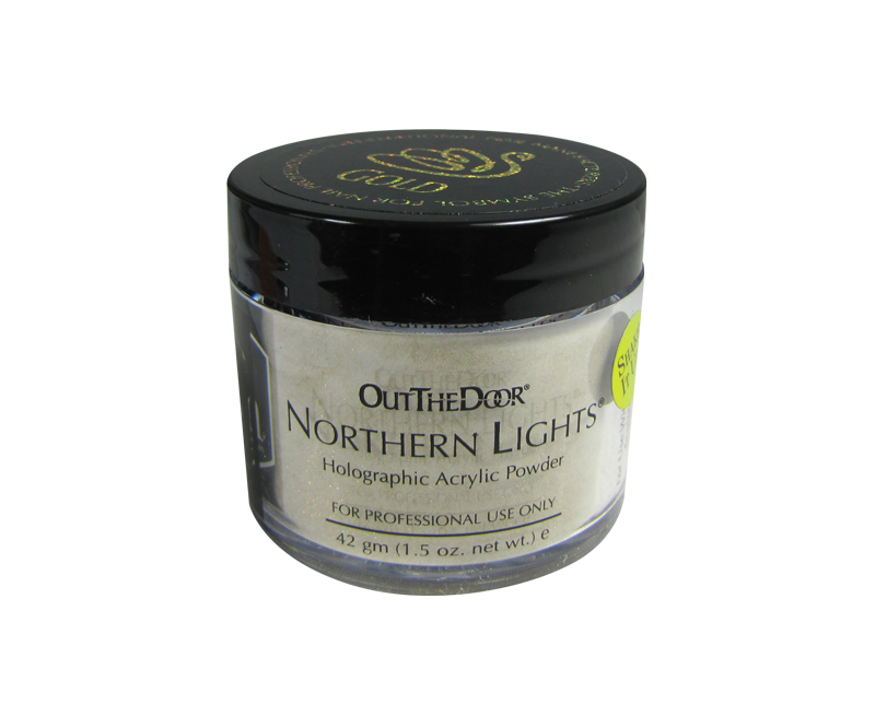 INM Poudre Northern Light Holographic Gold 1.5oz