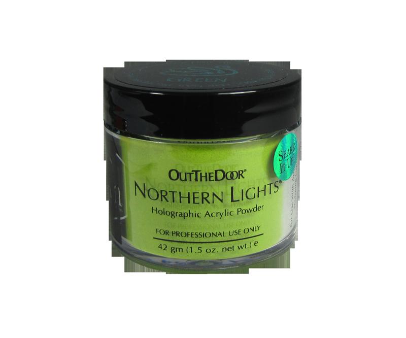 INM Poudre Northern Light Holographic Green 1.5oz (INMNLAGR1)