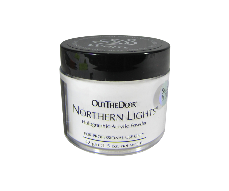INM Poudre Northern Light Holographic White 1.5oz