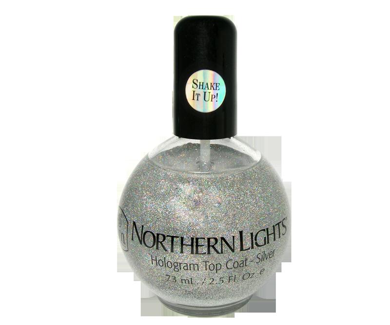 INM Northern Lights Top Coat Argent 2,5 oz