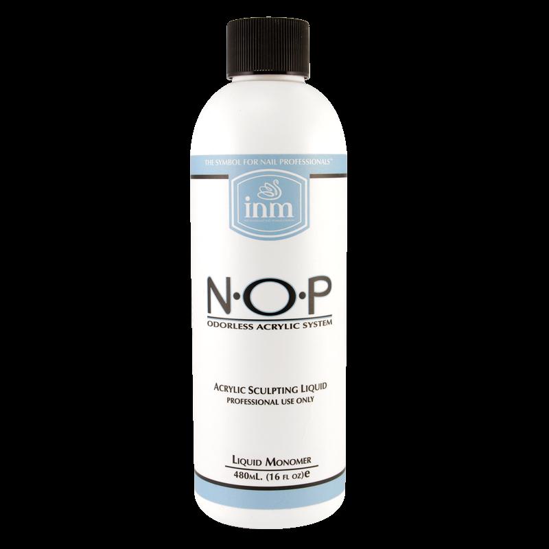 INM N.O.P. Acrylique Liquide de Monomer Sans Odeur 16oz