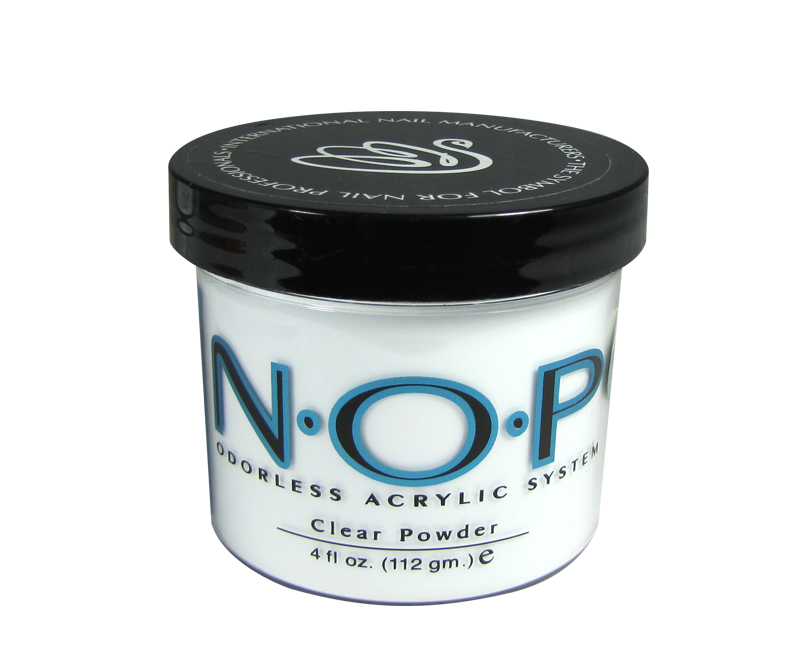 INM N.O.P. Odorless Acrylic Powder Clear 4oz