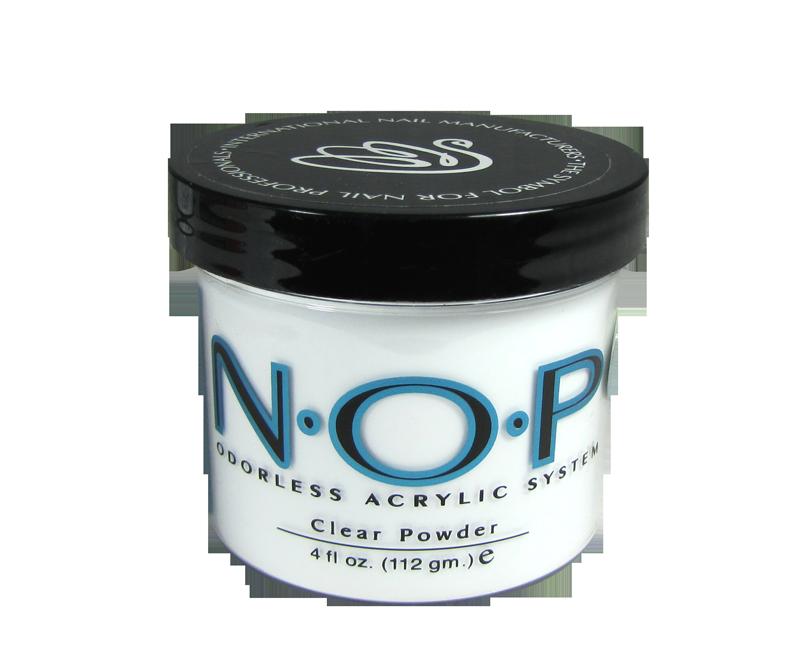 INM N.O.P. Poudre d'Acrylique Sans Odeur Claire 4oz (INMNOPPC4)