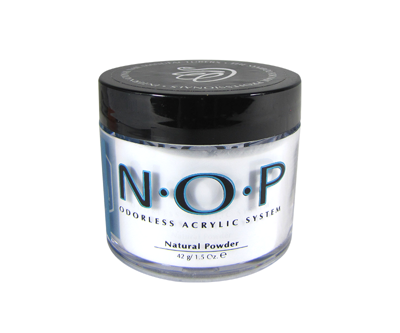 INM N.O.P. Odorless Acrylic Powder Natural 1.5oz