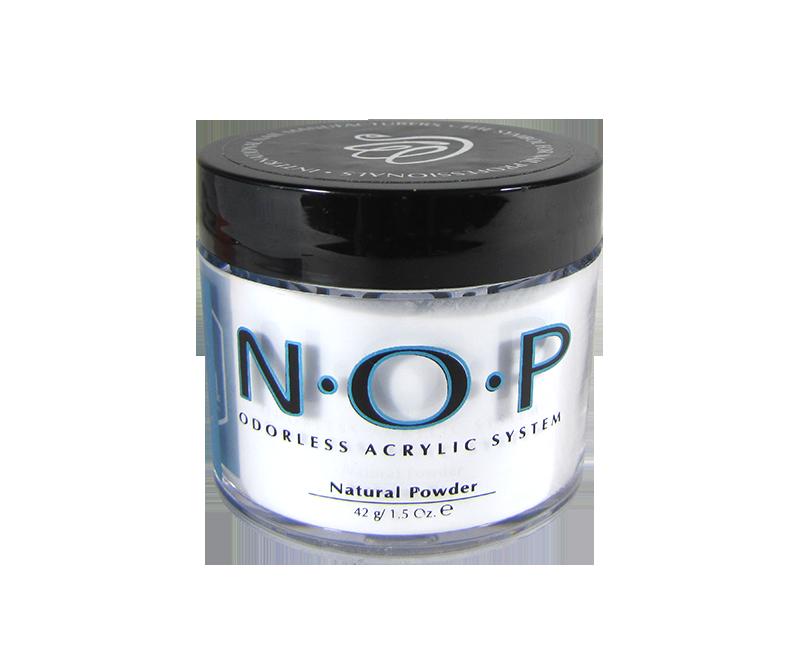 INM N.O.P. Poudre d'Acrylique Sans Odeur Naturelle 1.5oz (INMNO