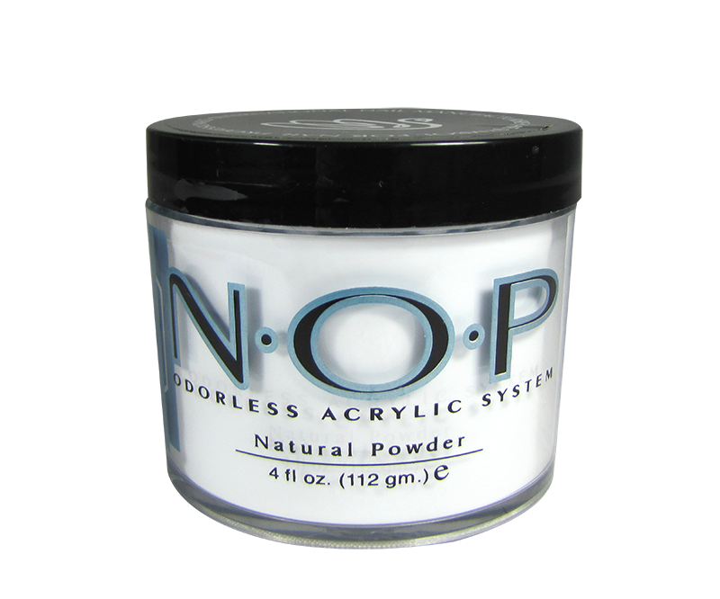 INM N.O.P. Poudre d'Acrylique Sans Odeur Naturelle 4oz (INMNOPP