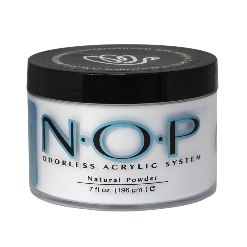 INM N.O.P. Odorless Acrylic Powder Natural 7oz
