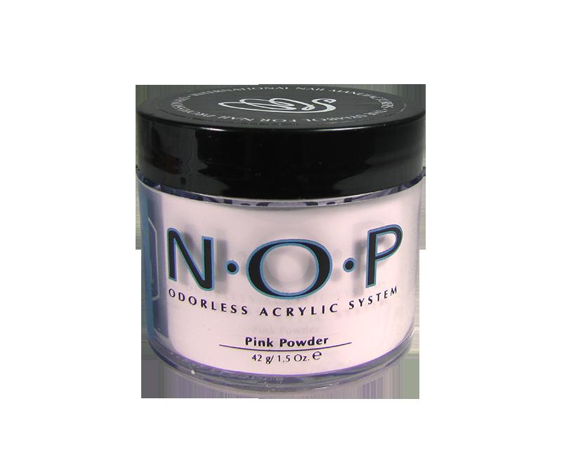 INM N.O.P. Odorless Acrylic Powder Pink 1.5oz