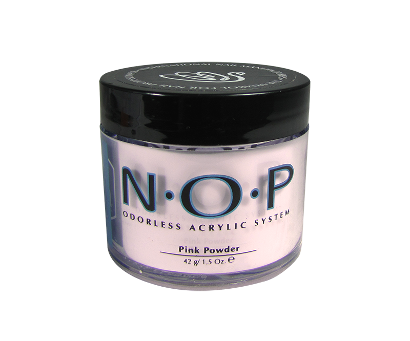 INM N.O.P. Poudre d'Acrylique Sans Odeur Rose 1.5oz (INMNOPPP1)
