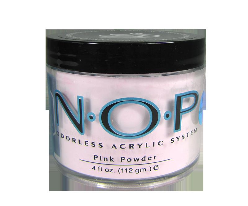 INM N.O.P. Poudre d'Acrylique Sans Odeur Rose 4oz (INMNOPPP4)