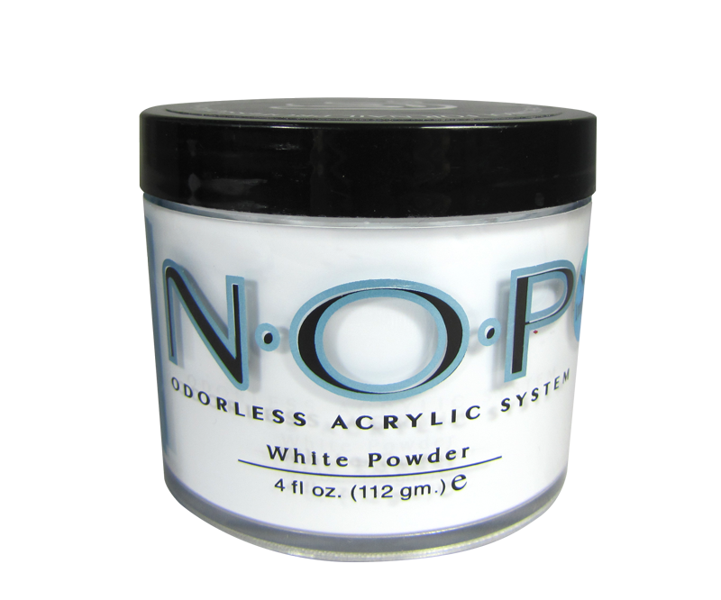INM N.O.P. Odorless Acrylic Powder White 4oz