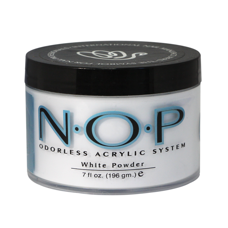 INM N.O.P. Odorless Acrylic Powder White 7oz