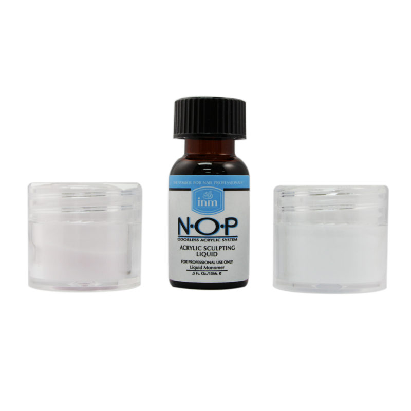 INM Trial acrylic nail Kit Odorless Acrylic N.O.P. (INMNOPTMD)