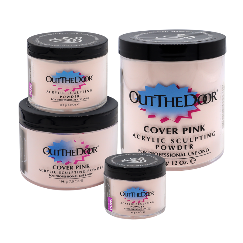 INM Out the Door Poudre d'Acrylique Cover Pink (Camouflage)