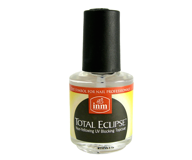 INM Total Eclipse Top Coat UV 1/2 oz