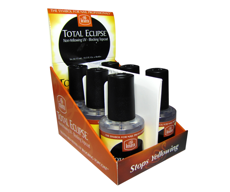 INM Total Eclipse Top Coat UV 6 x 1/2oz (INMTE6P)