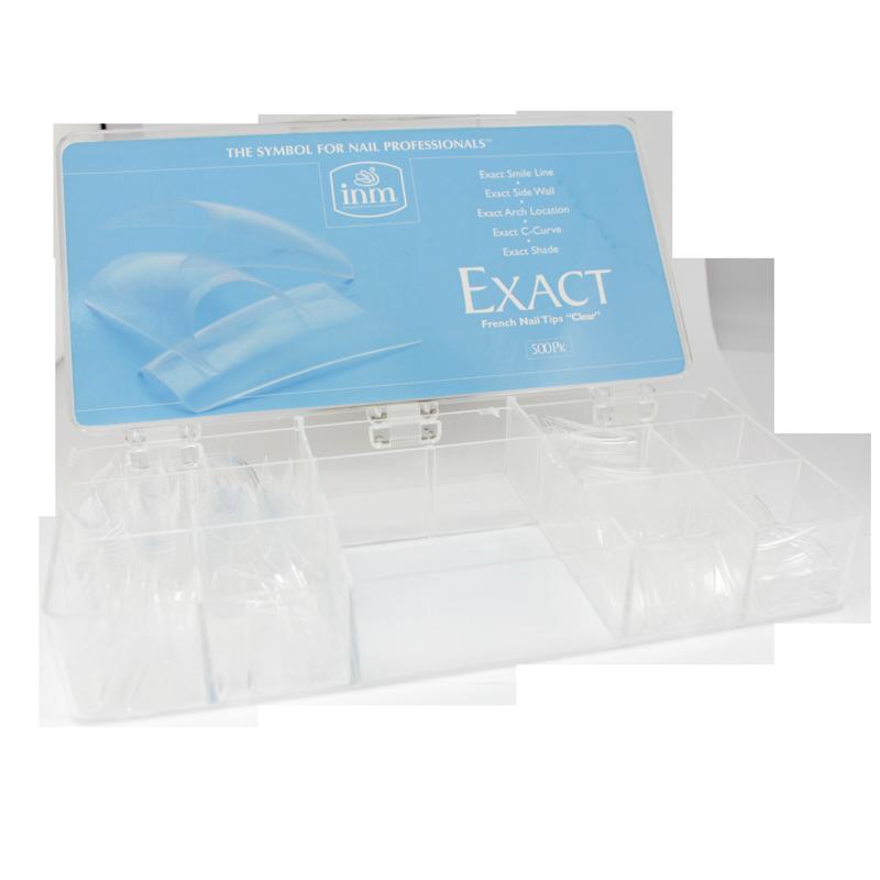 INM Prothèses Exact Clear Nail Tips 500 pcs