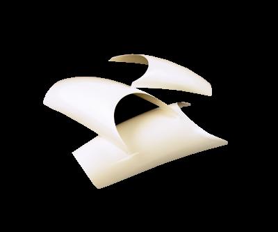 INM Prothèses Exact French White Nail Tips