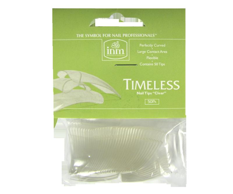 INM Prothèses Timeless Clear Nail Tips 50 pcs #8 (INMTIPTC8)