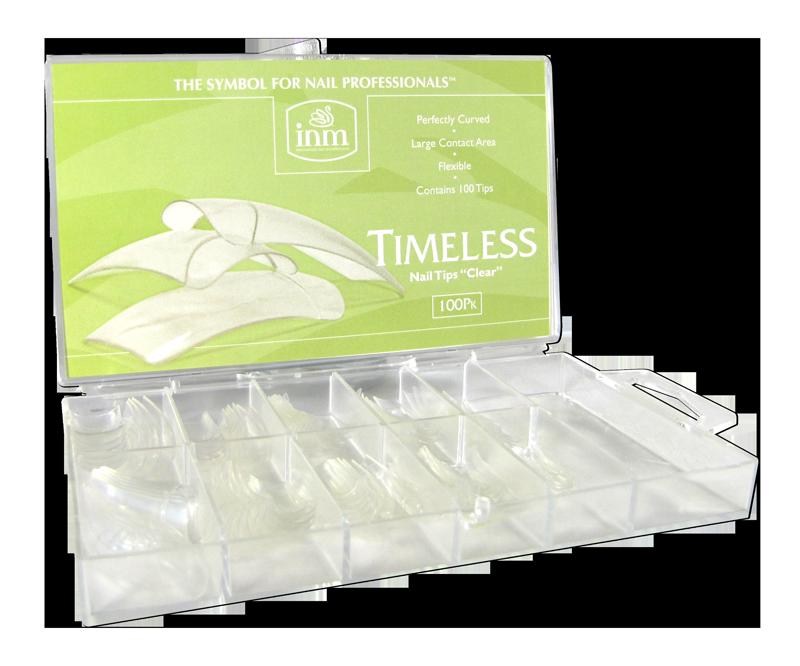 INM Prothèses Timeless Clear Nail Tips 100 pcs (INMTIPTC100)