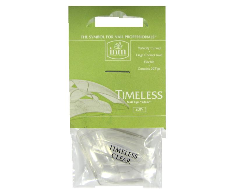 INM Prothèses Timeless Clear Nail Tips 20 pcs (INMTIPTC20)