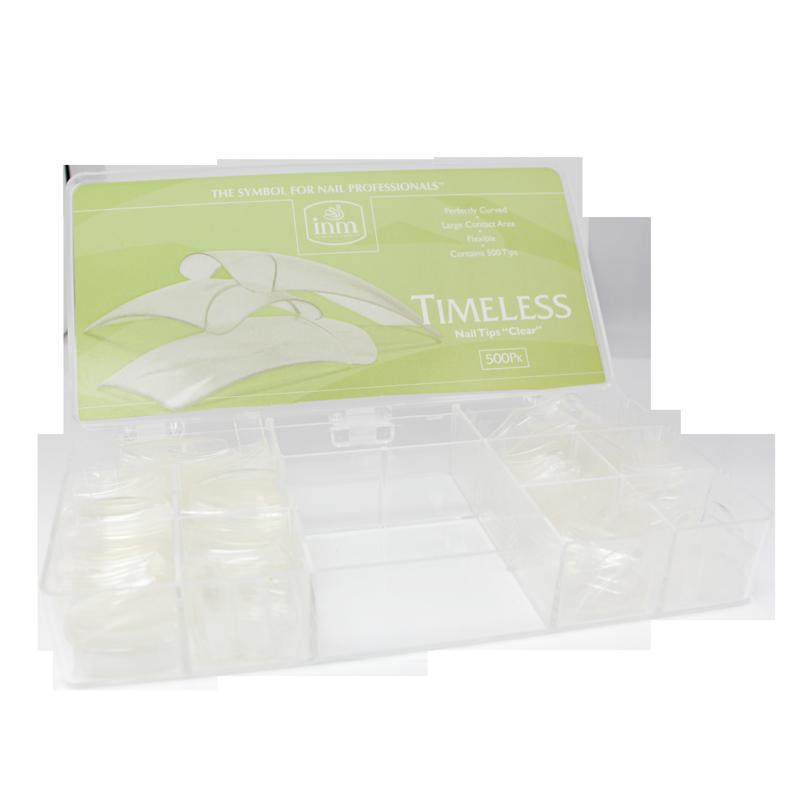 INM Prothèses Timeless Clear Nail Tips 500 pcs