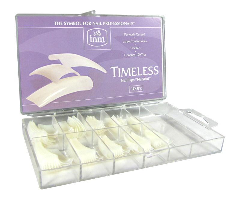 INM Prothèses Timeless Natural Nail Tips 100 pcs (INMTIPTN100)