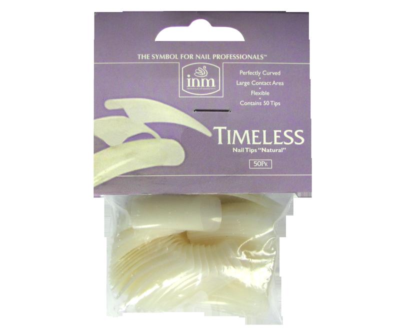 INM Prothèses Timeless Natural Nail Tips 50 pcs #6 (INMTIPTN6)