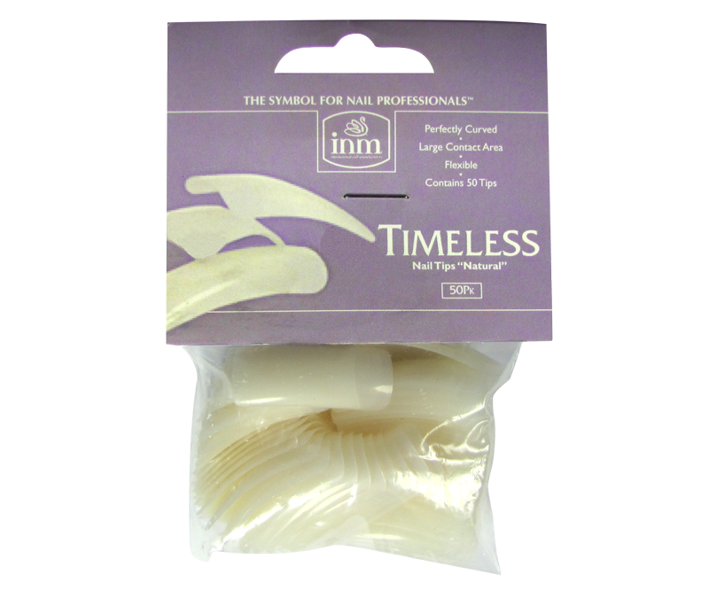 INM Prothèses Timeless Natural Nail Tips 50 pcs #8 (INMTIPTN8)