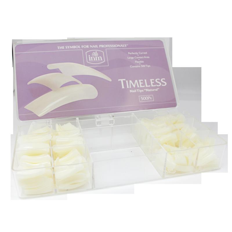 INM Prothèses Timeless Natural Nail Tips 500 pcs