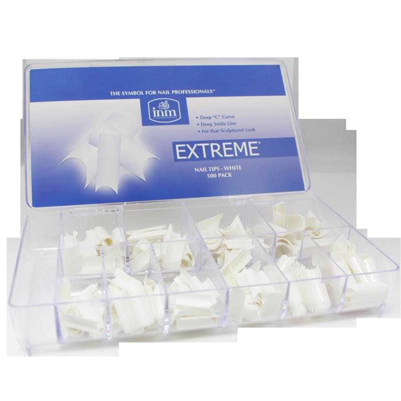 INM Prothèses Extreme White Nail Tips 500 pcs