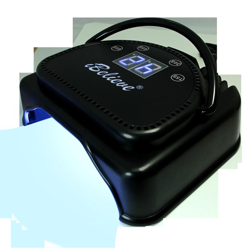 Lampe LED universelle 64 watts iBelieve noire 110V