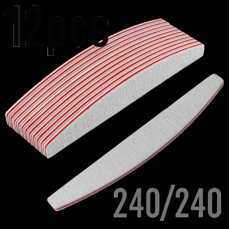Lime Demi-Lune Zebra 240/240W - DOUZAINE