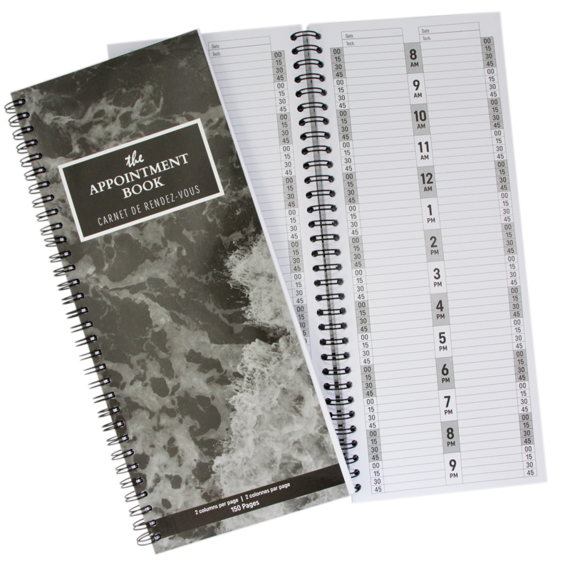Livret de Rendez-Vous 2 colonnes, 150 pages