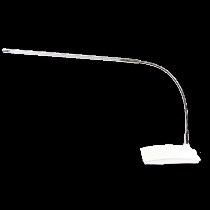 Lampe de Table LED FX019A Argent et Blanche 110V