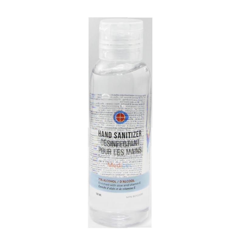 Medibec Désinfectant pour les Mains 100mL (75% d'Alcool)