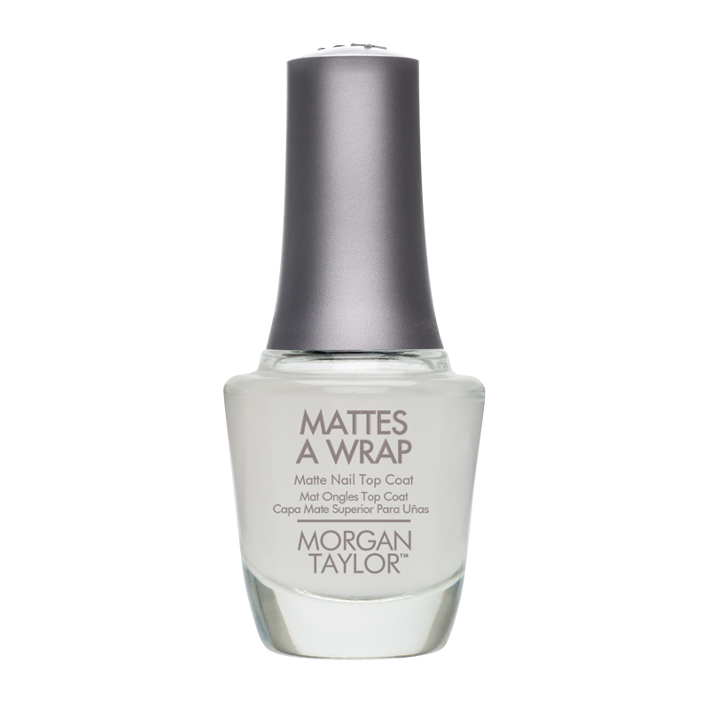 Morgan Taylor Nail Polish Mattes a Wrap - Top Mat 15mL