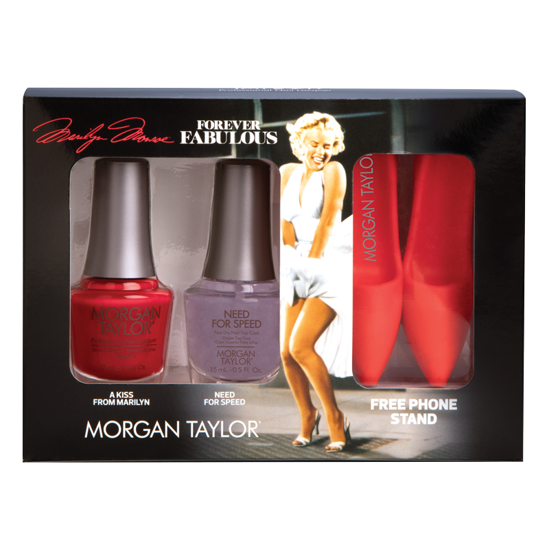 Morgan Taylor Nail Polish Duo A Kiss from Marilyn