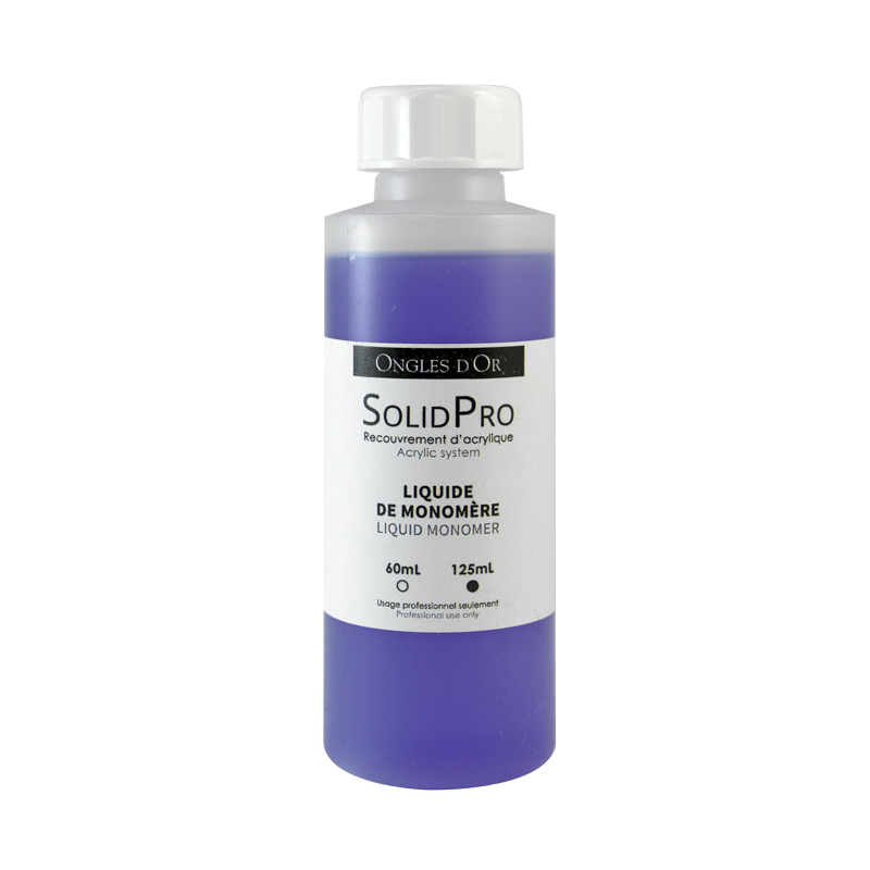 Ongles d'Or Solid Pro Liquid Monomer 125mL