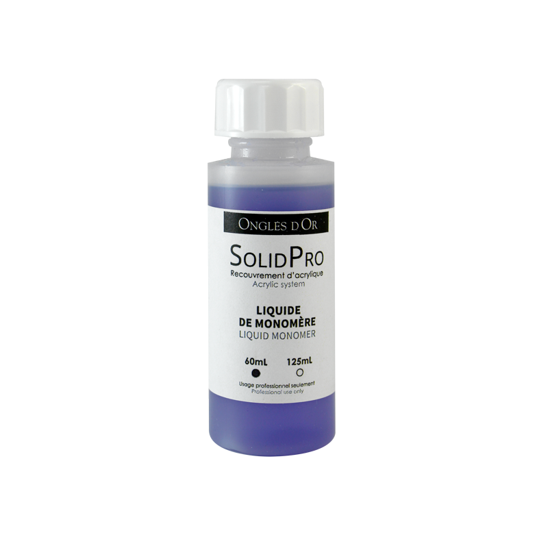 Ongles d'Or Solid Pro Liquid Monomer 60mL