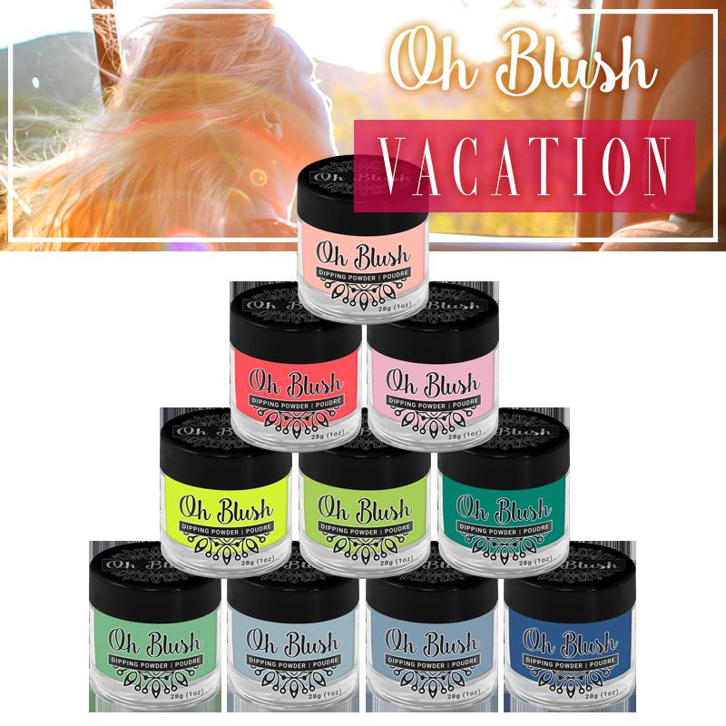 Oh Blush Powder - Vacation Collection (10pcs)