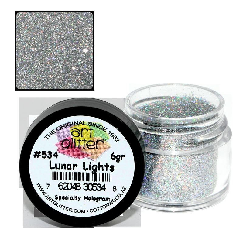 Paillette Art Glitter 534 Lunar Lights 1/4 oz