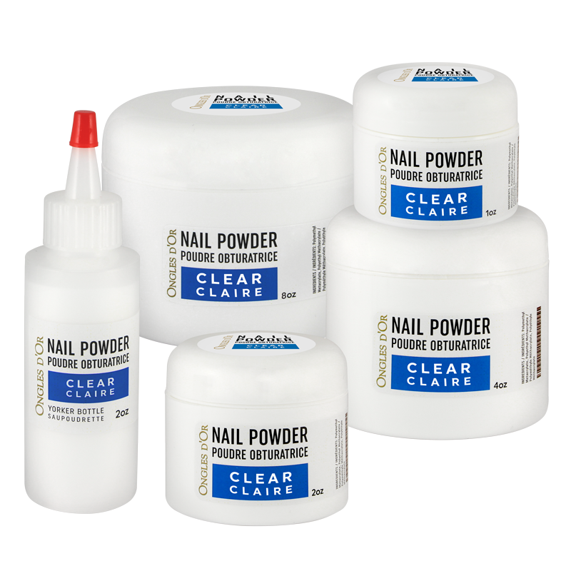 Ongles d'Or Nail Powder - Clear