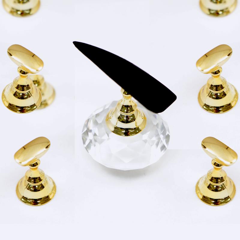 Nail Art Clear Cristal Magnetic Display (6pcs)