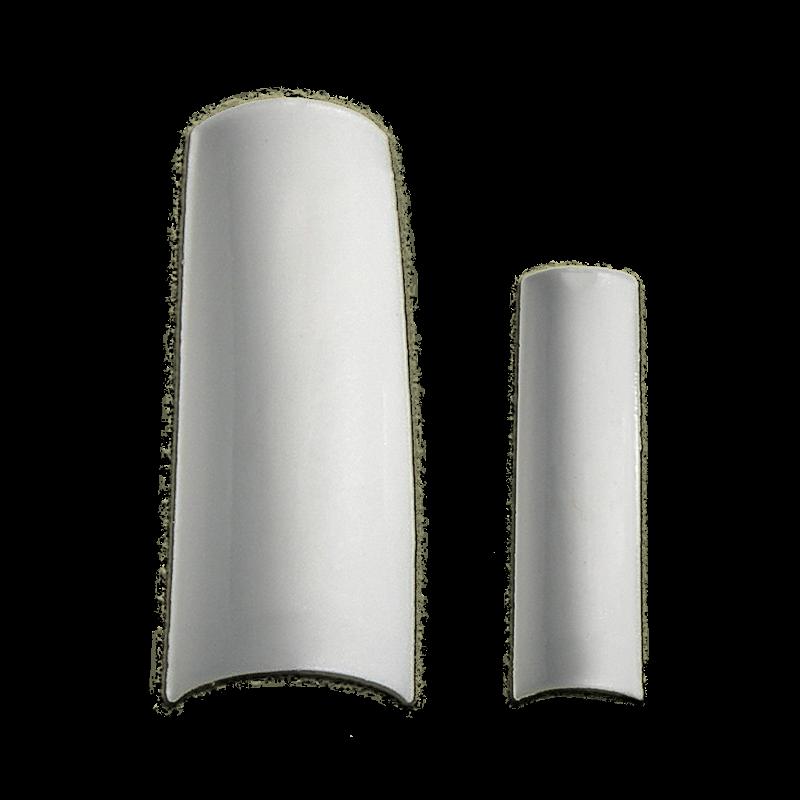Half Well Nail Tips - Blanc Elegant White Color