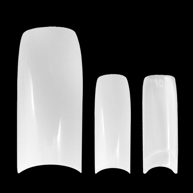 Half Well Tips - Jinhong Art Nail White