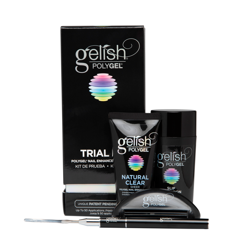 Gelish PolyGel Trial Kit with Polytool