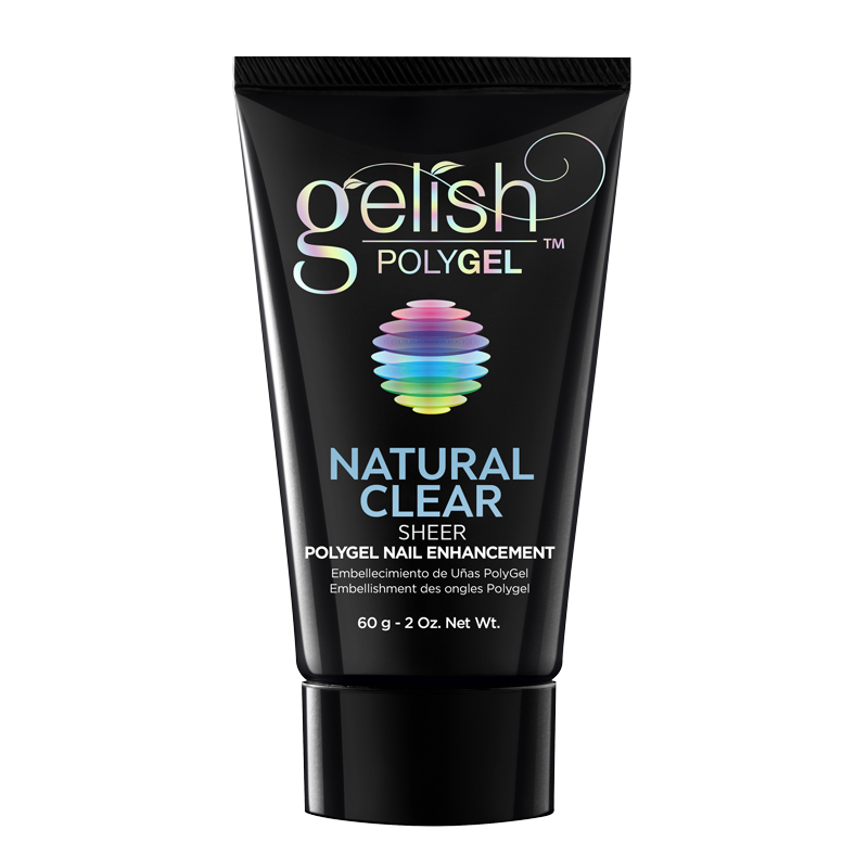 Gelish PolyGel Nail Enhancement Natural Clear Sheer - 60g