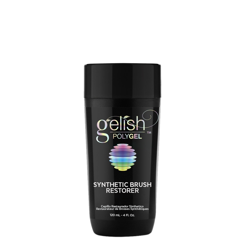 Gelish PolyGel Nail Enhancement Synthetic Brush Restorer 120 ml