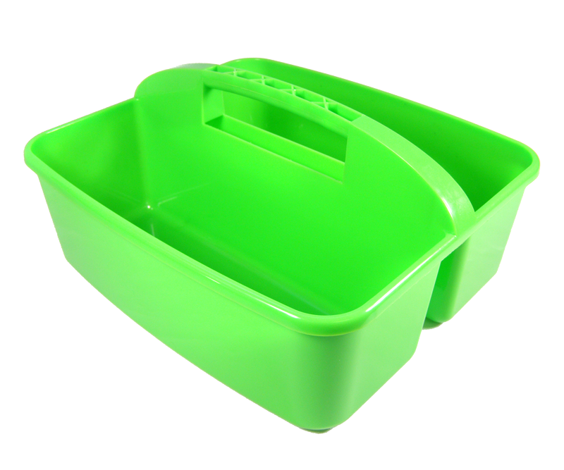 Panier Plastique Empilable (Vert)